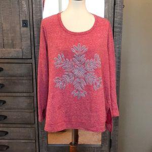 Cato Snowflake ❄️ Sweatshirt